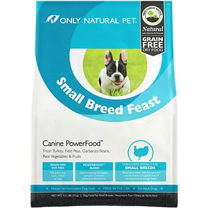 Only Natural Pet Canine PowerFood Small Breed Feast Grain-Free Dry Dog Food