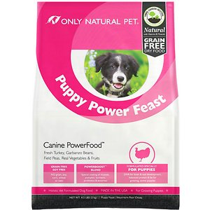 Only Natural Pet Canine PowerFood Puppy Power Feast Grain-Free Dry Dog Food