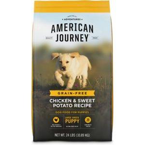 American Journey Large Breed Puppy Chicken & Sweet Potato Recipe Grain-Free Dry Dog Food