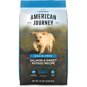 American Journey Large Breed Puppy Salmon & Sweet Potato Recipe Grain-Free Dry Dog Food