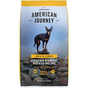 American Journey Small Breed Adult Chicken & Sweet Potato Recipe Grain-Free Dry Dog Food