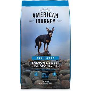 American Journey Small Breed Adult Salmon & Sweet Potato Recipe Grain-Free Dry Dog Food
