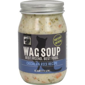 Wet Noses Wag Soup Chicken & Rice Recipe Wet Dog Food