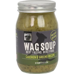 Wet Noses Wag Soup Chicken & Greens Recipe Wet Dog Food