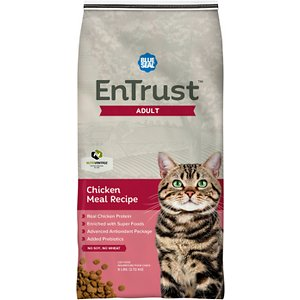 Blue Seal EnTrust Adult Cat Chicken Meal Recipe Dry Cat Food
