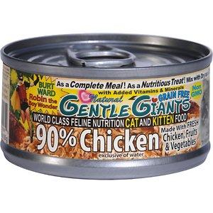Gentle Giants Chicken Grain-Free Wet Cat Food