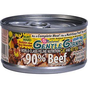 Gentle Giants Beef Grain-Free Wet Cat Food