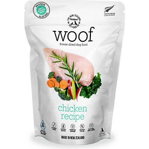The New Zealand Natural Pet Food Co. Woof Chicken Recipe Grain-Free Freeze-Dried Dog Food