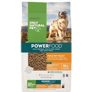 Only Natural Pet PowerFood Poultry Feast Grain-Free Dry Dog Food