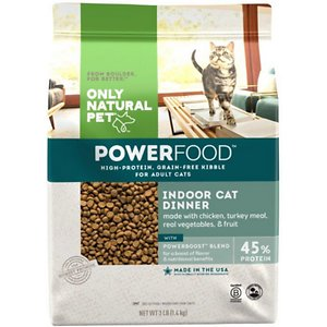 Only Natural Pet PowerFood Poultry Dinner Grain-Free Dry Cat Food