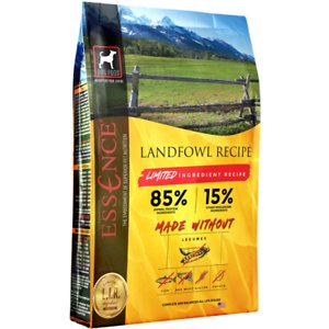 Essence Limited Ingredient Recipe Landfowl Recipe Dry Dog Food