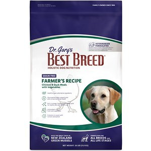 Dr. Gary's Best Breed Grain-Free Farmer's Recipe Dry Dog Food