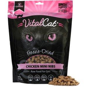 Vital Essentials Chicken Mini Nibs Freeze-Dried Cat Food