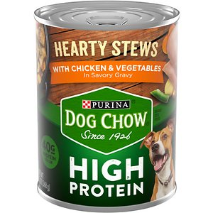 Dog Chow Hearty Stews With Real Chicken & Vegetables In Savory Gravy High Protein Wet Dog Food