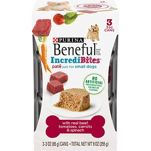 Purina Beneful IncrediBites Pate With Real Beef