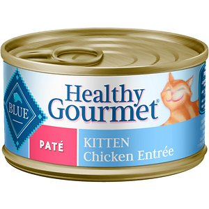 Blue Buffalo Healthy Gourmet Pate Kitten Chicken Entree Canned Cat Food