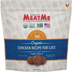 MeatMe Organic Chicken Recipe Raw Frozen Cat Food