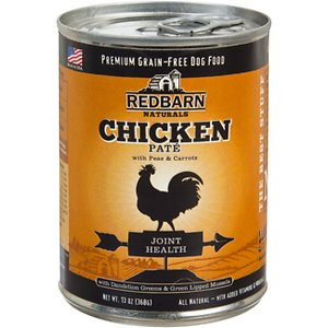 Redbarn Naturals Chicken Pate Joint Health Grain-Free Canned Dog Food