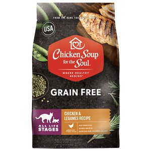 Chicken Soup for the Soul Chicken & Legumes Recipe Grain-Free Dry Cat Food
