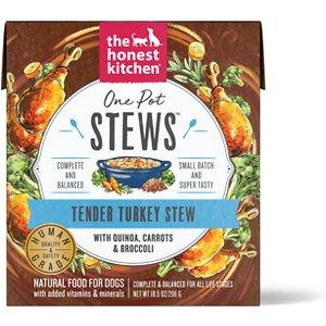 The Honest Kitchen One Pot Stew Tender Turkey Stew with Quinoa