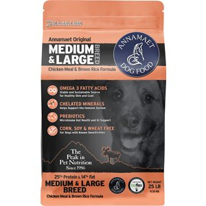 Annamaet 25% Medium & Large Breed Dry Dog Food