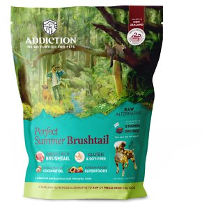 Addiction Perfect Summer Brushtail Raw Dehydrated Dog Food