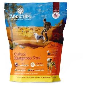 Addiction Outback Kangaroo Feast Raw Dehydrated Dog Food