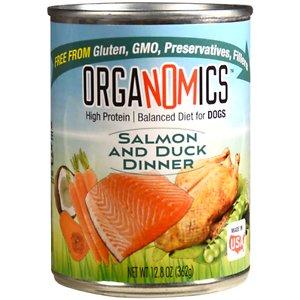 OrgaNOMics Salmon & Duck Dinner Grain-Free Pate Wet Dog Food