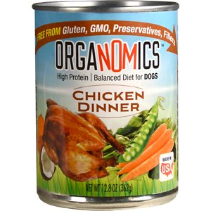 OrgaNOMics Chicken Dinner Grain-Free Pate Wet Dog Food