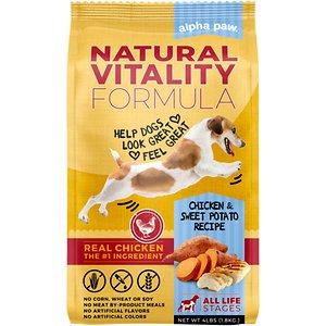 Alpha Paw Natural Vitality Formula Chicken & Sweet Potato Recipe Dry Dog Food