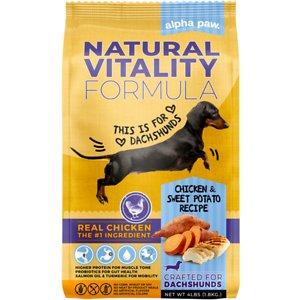 Alpha Paw Natural Vitality Dachshund Food