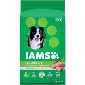 Iams Adult MiniChunks Small Kibble High Protein Dry Dog Food